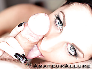 Racquel is a beautiful twenty realm old dark brown, with all natural whoppers and a tiny shaved cookie.  This Babe is a total account engulfing freak, that can't appear to be to get sufficiently cum in her mouth. When u watch what this babe does to my dick u strength of character understand. That Babe rode my penis like a pro and then I flipped her over and stretched her slit good. We had a banging good time and that babe swallowed a sticky load.