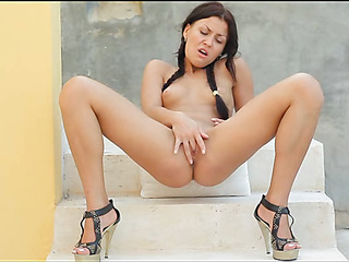 Pal around in a company of luxurious large tittied beauty